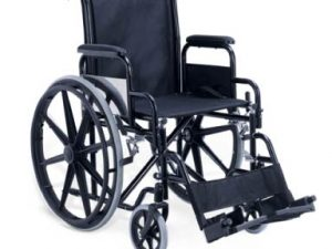 Drive Silver Sport 2 Detachable Desk Arms Footrests Wheelchair Non Removable Fixed Arms