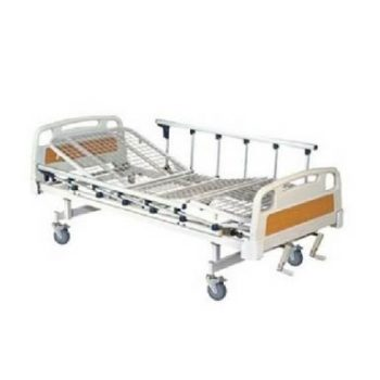 Manual Hospital Cot With Wheels