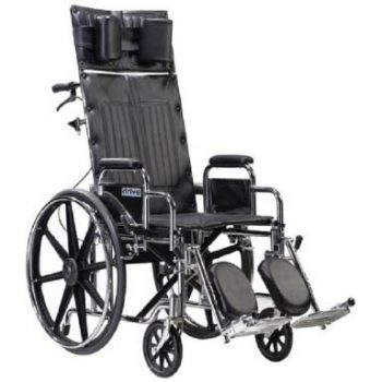 Shop Drive Medical Sentra Reclining Wheelchair with Detachable Desk Arms