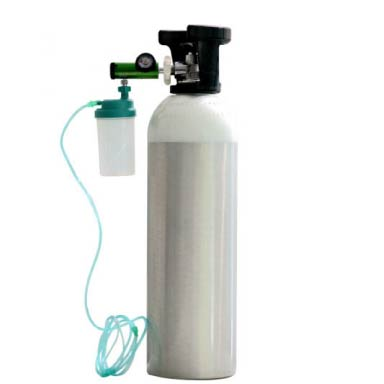 Complete Oxygen Cylinder Kit For Home Use Portable