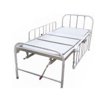 Head and Foot Adjustable Hospital Cot for Home use