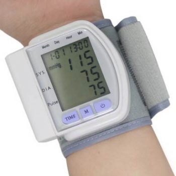 Wrist Cross Home Use Digital Sphygmomanometer